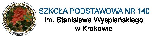 Szkoła Podstawowa nr 140 im. Stanisława Wyspiańskiego w Krakowie